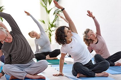 yoga 4 stiff people  be inspired get connected yoga